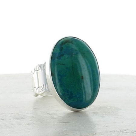 Chrysocolla Ring Size 6