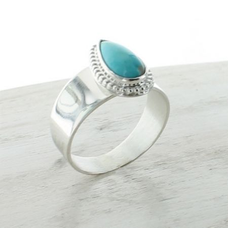 Turquoise Ring Size 10