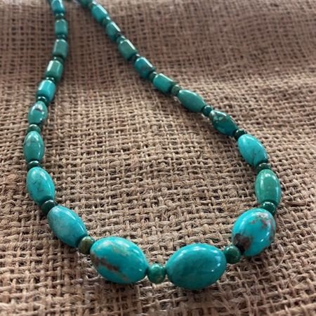 Iron Mountain Turquoise Necklace
