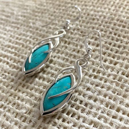 Turquoise Hill Turquoise Earrings