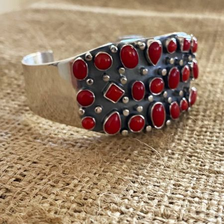 Red Sea Bamboo Coral Cuff