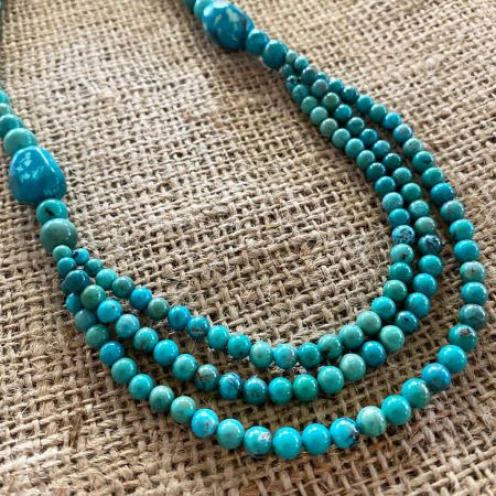 Hubei Turquoise Nested Necklace