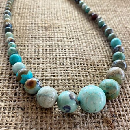 Seven Peaks Turquoise Graduated Necklace