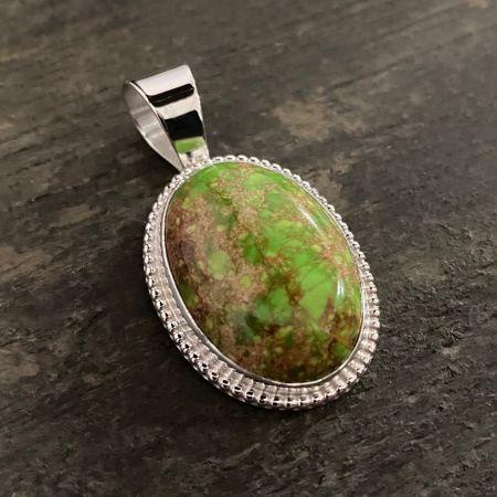 Green Emperial Jasper Pendant