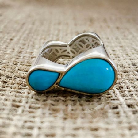 Turquoise Hill Ring - Size 9