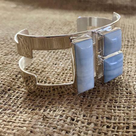 Blue Opal Cuff