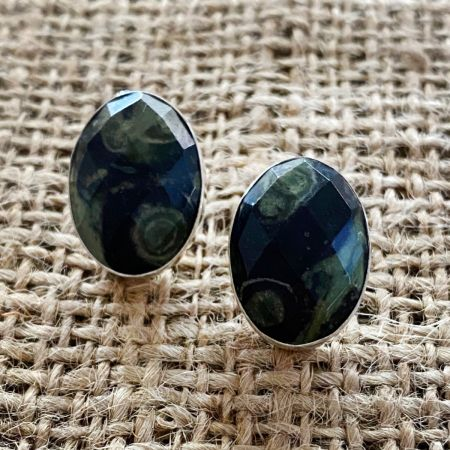 Faceted Kabamba Jasper Earrings