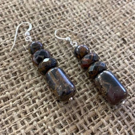 Pilbara Stone Dangle Earrings
