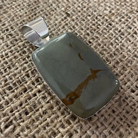 Wild Horse Jasper Rectangle Pendant