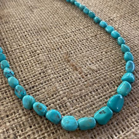 Seven Peaks Turquoise Nugget Necklace