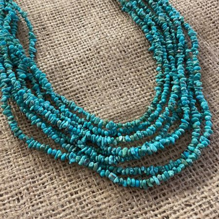 Iron Mountain Turquoise Eight Strand Necklace