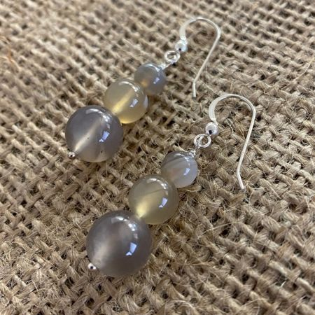 Natural Agate Earrings