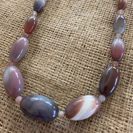 African Chalcedony Necklace