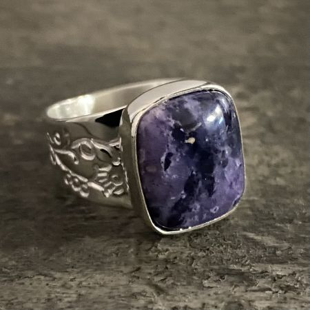 Lavender Opal Ring - Size 7