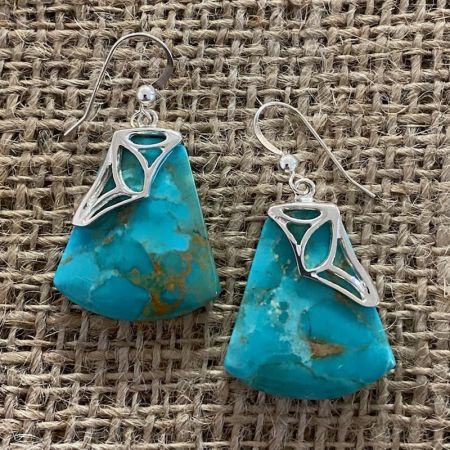 Santa Rita Turquoise Earrings