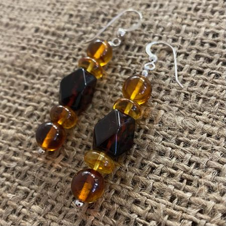 Amber Medley Earrings