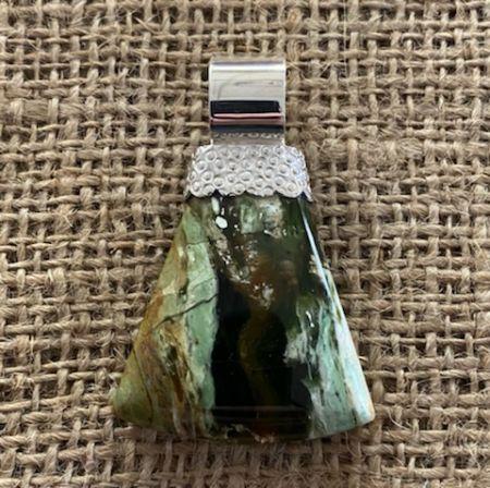 Australian Autumn Opal Pendant