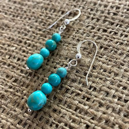 Chilean Turquoise Earrings