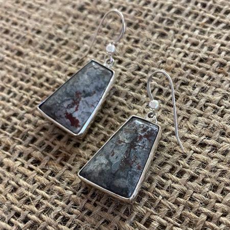 Sonoran Dendritic Jasper Earrings