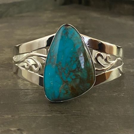 Turquoise Hill Turquoise Cuff