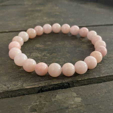 Peruvian Pink Opal Stretch Bracelet