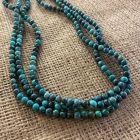 Three Strand Hubei Turquoise Necklace