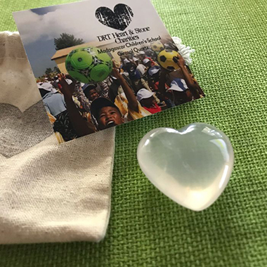 DRT Heart Charities - Girasol Quartz
